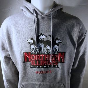 L Northern Illinois Huskies Hoodies